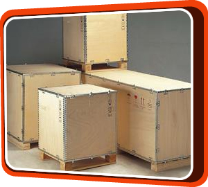 Foldable Plywood Case  | UPL – International Packaging Logistics